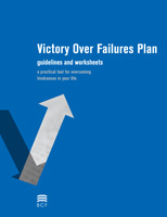 Victory Over Failures - The Victory Over Failures Plan is a tool that has been developed to help you overcome any difficulty of life with the full expectation of complete and lasting victory.Needed in packets of 50.