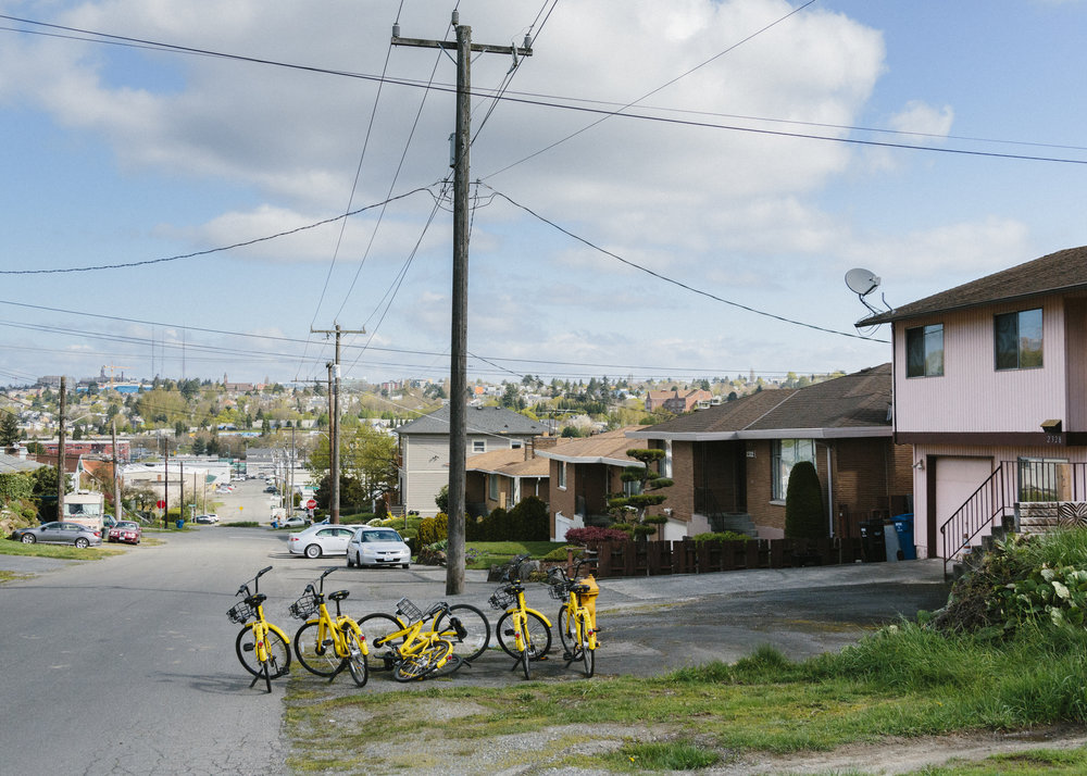 Seattle Bike Share for WIRED