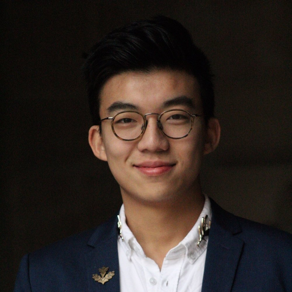 "Edward Li ('20)  China  Made in China. Singer. Songwriter. Tech geek. Also a sneakerhead, hypebeast. I'm the ""Word"" in the group. Love meeting interesting people from all over the world.  Computer Science Major"