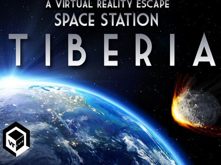 Space Station Tiberia   Step into outer space in Space Station Tiberia. Virtually experience zero gravity and amazing panoramic views from orbit. Oh and one other detail - you need to save the earth from certain disaster!