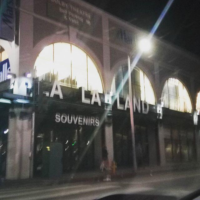 La La Land the award winning movie based on a store that sells awards. #meta #la