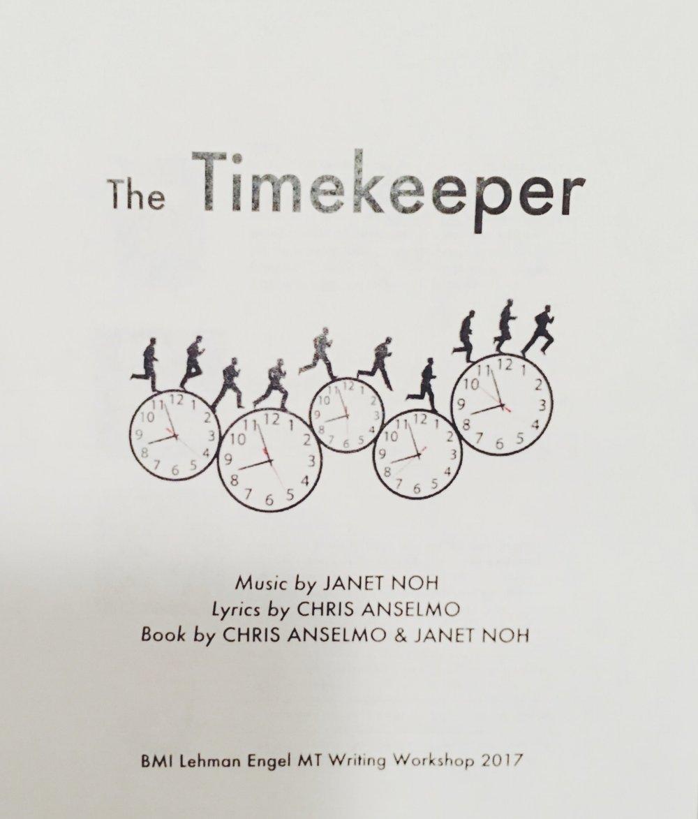 The Timekeeper | BMI Lehman Engel Musical Theatre Workshop | Patrick Howard