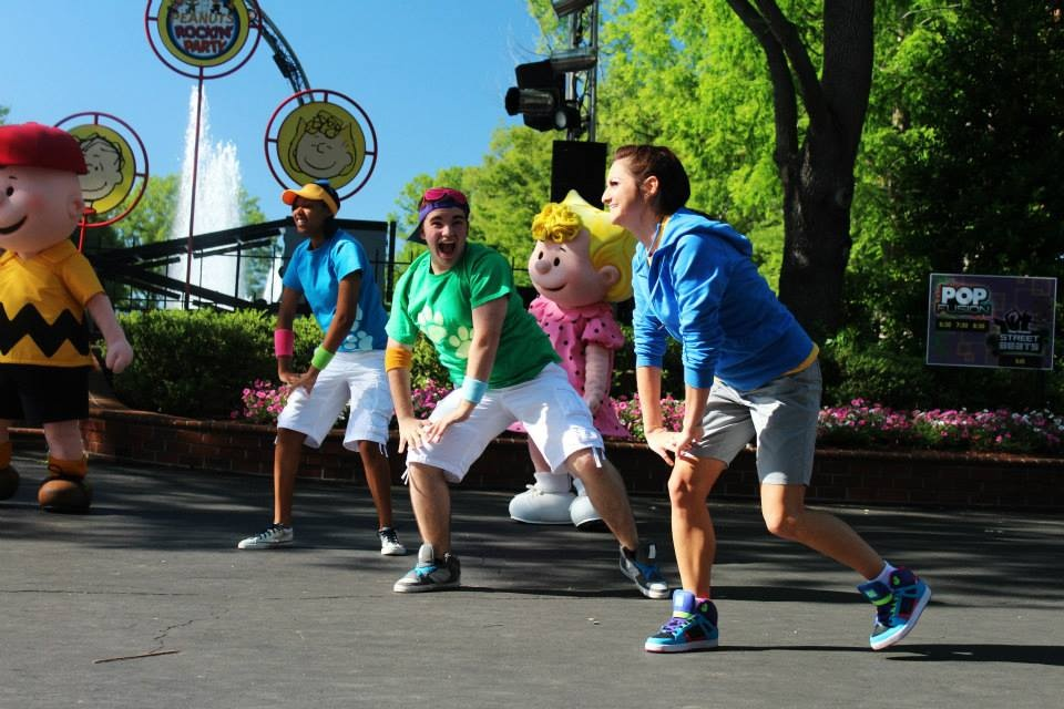 Peanuts Rockin' Party at Kings Dominion Amusement Park (2013)