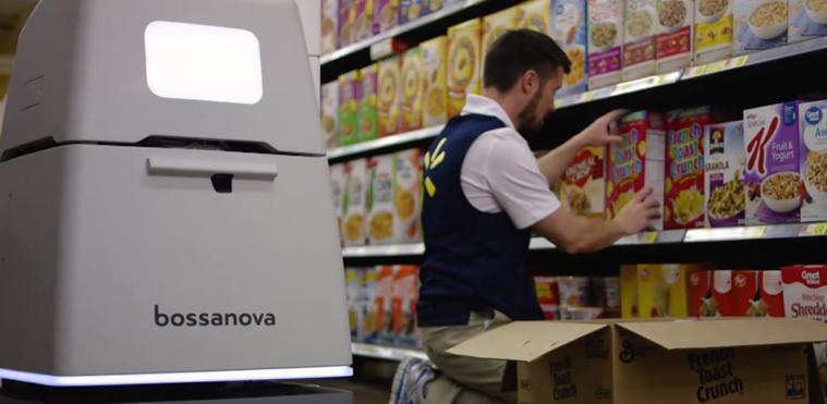 写真は、Bossa Nova Robotics ホームページ より。