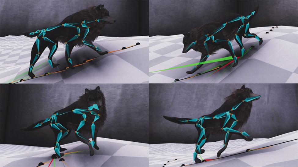 写真は、Gizmode ' Playable Tech Demo Shows Why Future Games Should Be Animated Using Neural Networks '