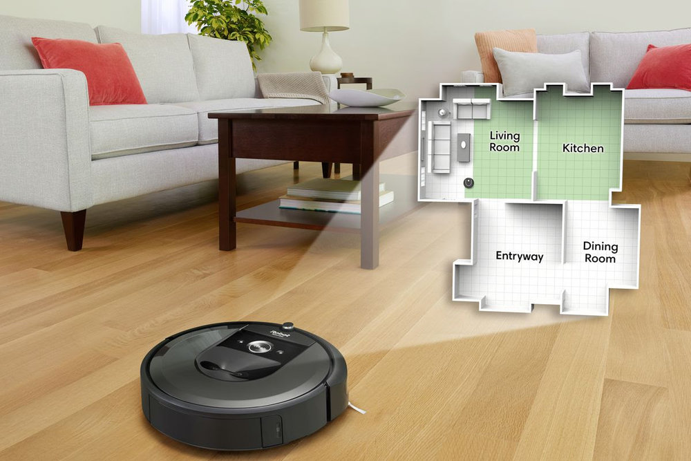 写真は、The Verge ' Google wants to improve your smart home with iRobot's room maps ' より