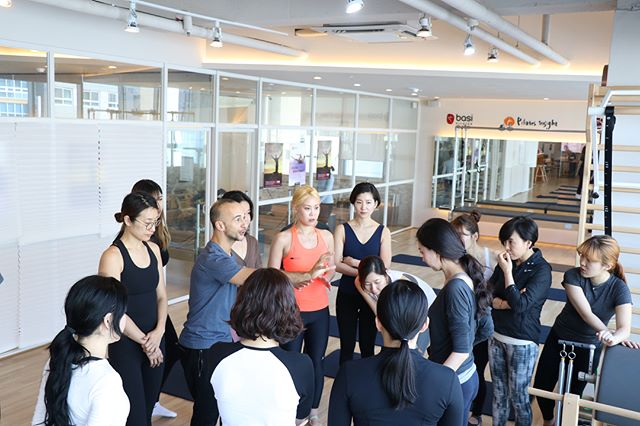 BASI Comprehensive course in Korea ! 최고의 필라테스 교육을 바시 코리아에서 받을 수 있습니다 :) #basipilates #basisystems #basikorea #바시코리아 #필라테스자격증