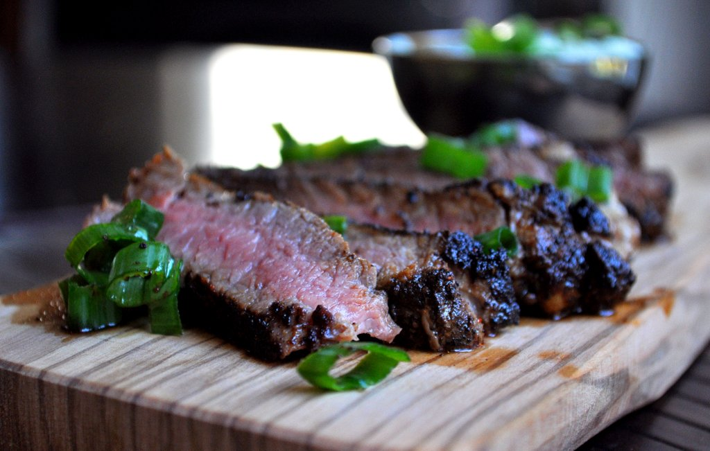 Espresso Crusted Steak by sixtyone45