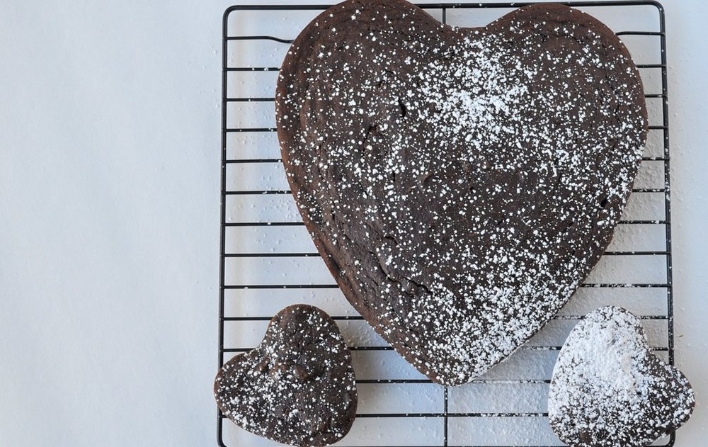 Just a Chocolate Cake {with cauliflower}