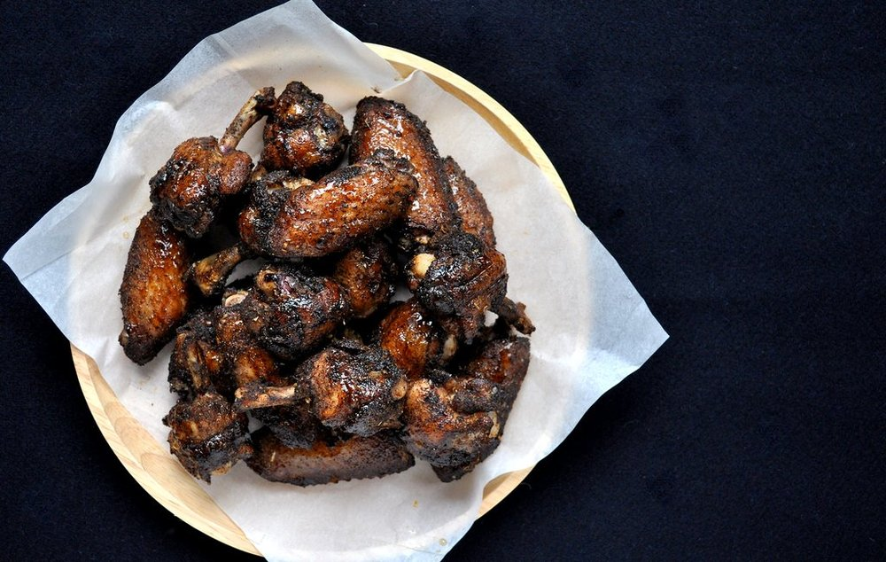 Salted Coffee Crusted Wings