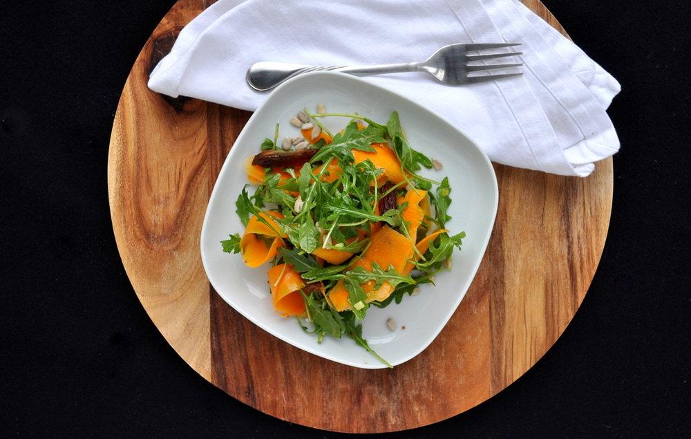 Butternut Squash & Arugula Salad by Food Well Said