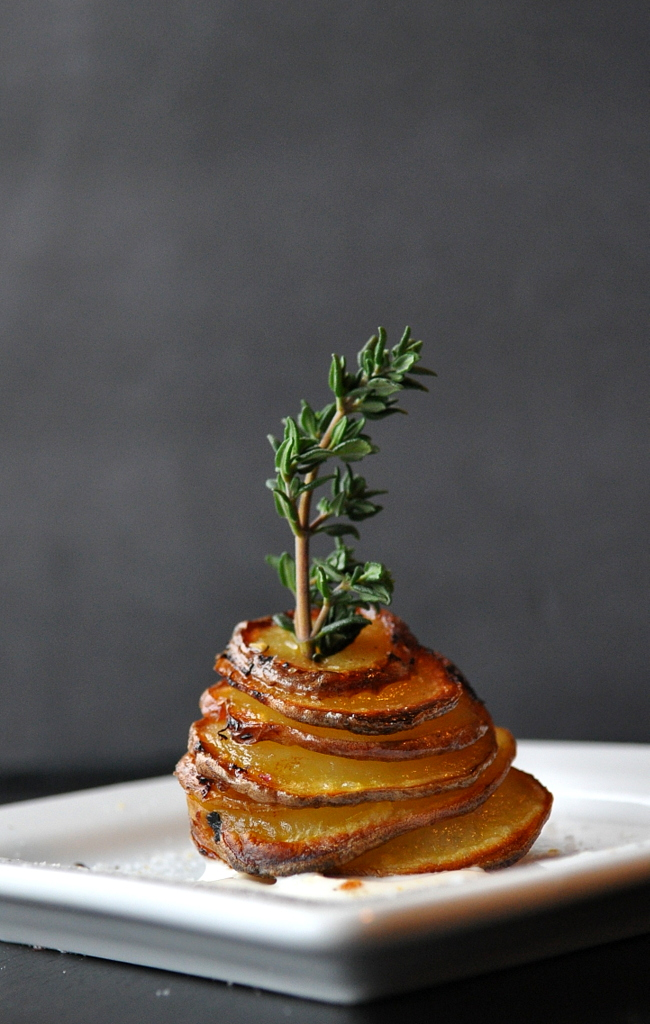 Little Potato Stacks by Food Well Said