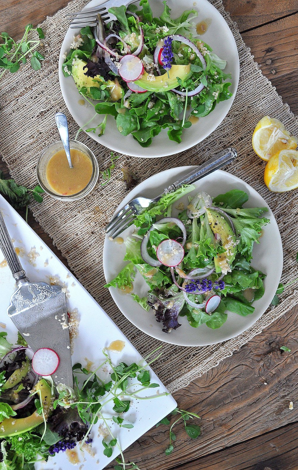 Butter Leaf Salad by Food Well Said