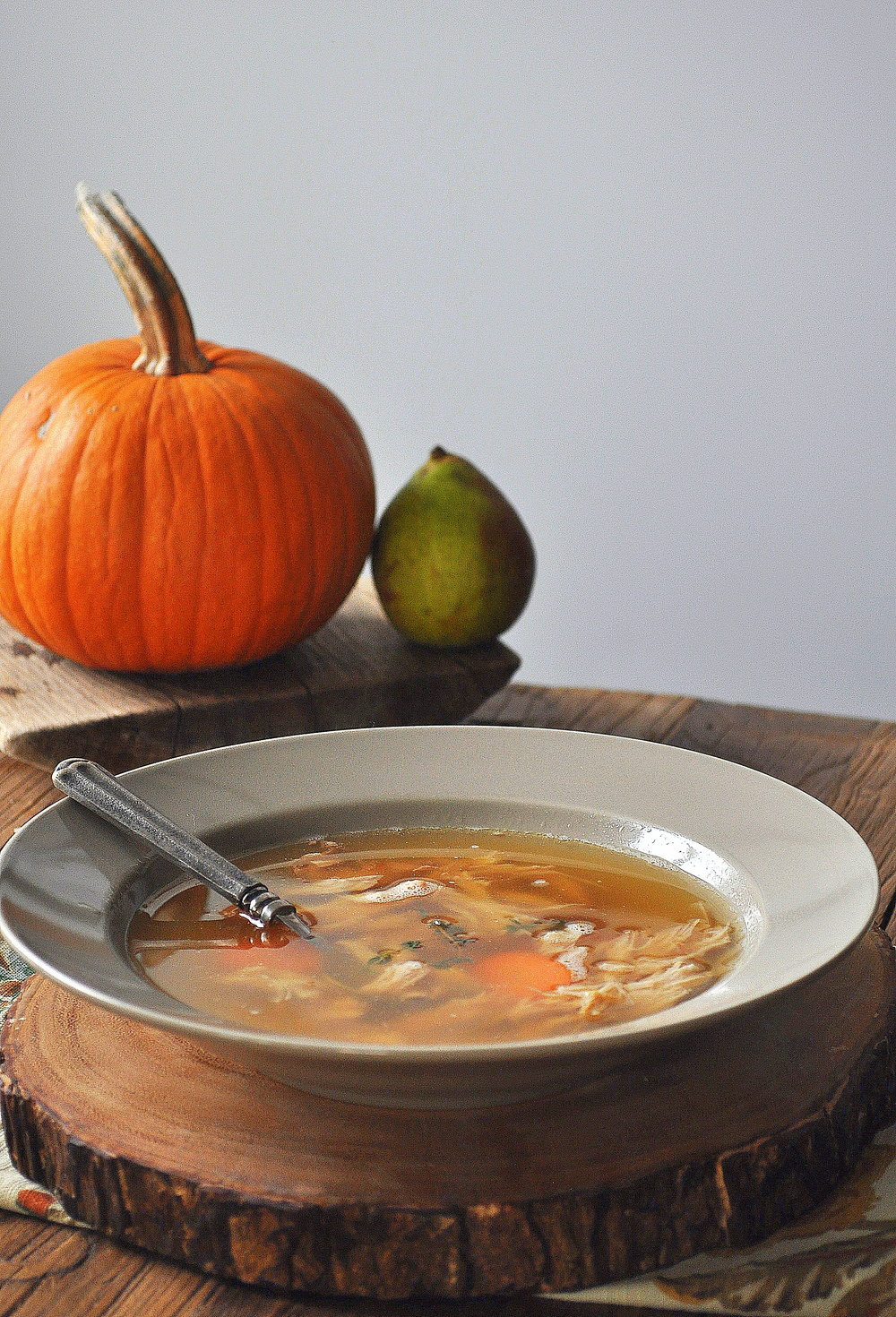 Turkey Bone Broth by Food Well Said