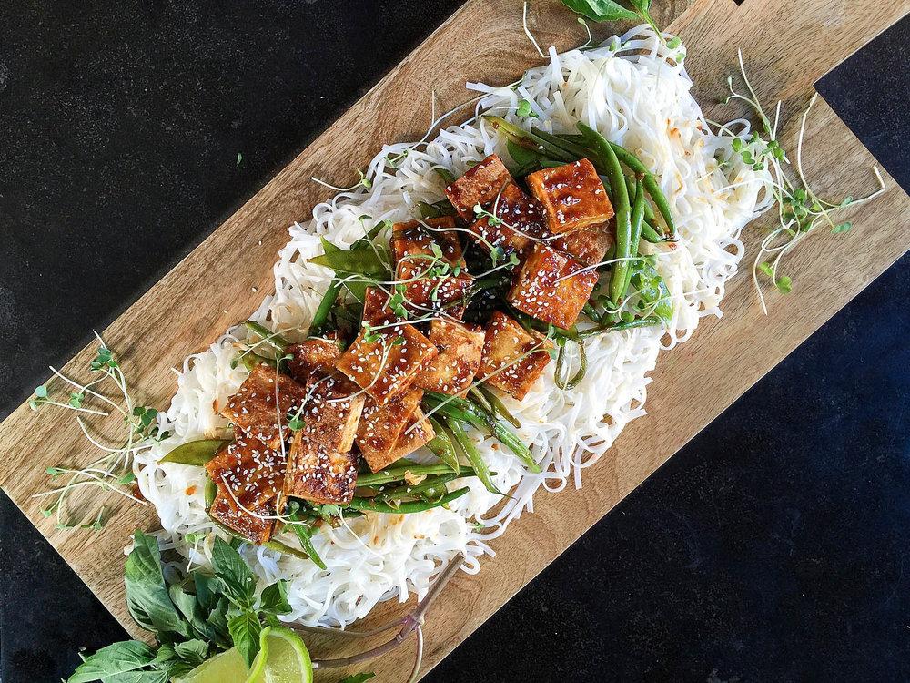 General Tso's Crispy Tofu