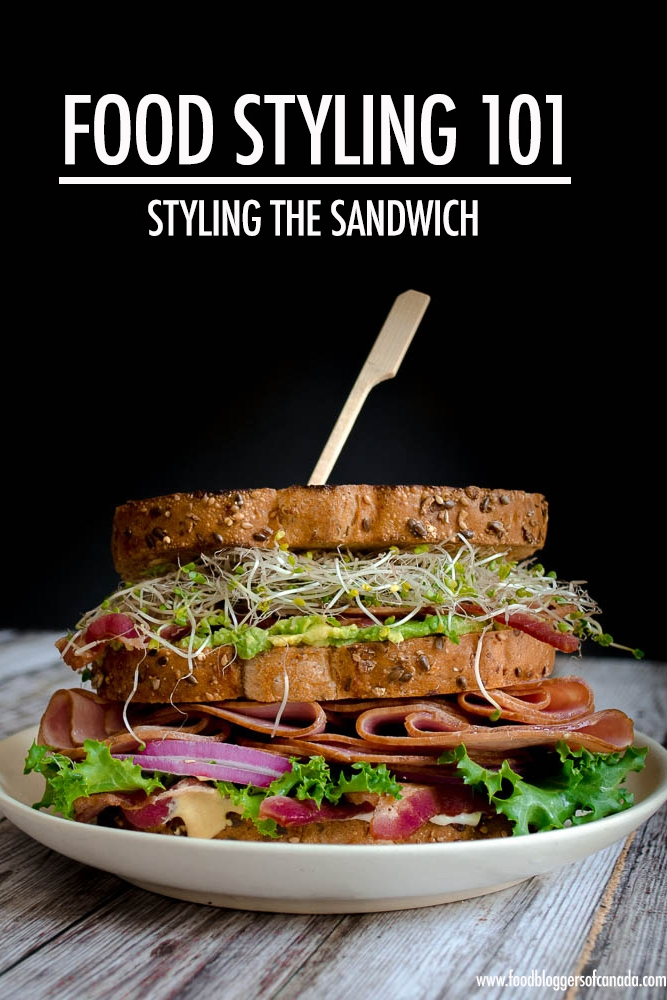 Food Styling: Tips For Styling Sandwiches - In our Food Styling 101 series, Lisa Bolton offers up food styling tips for conveying the stories you want your food to tell. Her advice will help you create food photography that entices readers to make your recipes and read your articles. This month she shares her tips for styling a meal that's easy to make but finicky to photograph: sandwiches.