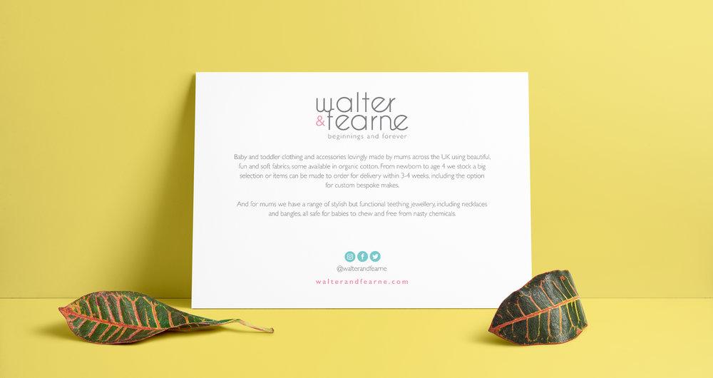 WALTER & FEARNE