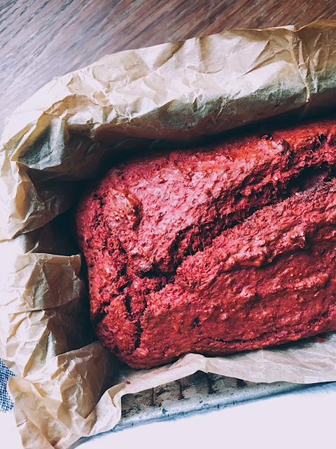 rudens biešu maize -