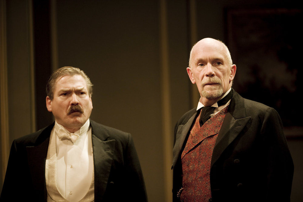 Michael Thomas and Hugh Ross in Waste. Photo Johan Persson.jpg