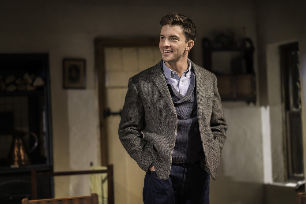 Jonathan Bailey (John) in The York Realist at the Donmar Warehouse, directed by Robert Hastie. Photo by Johan Persson 10112.jpg