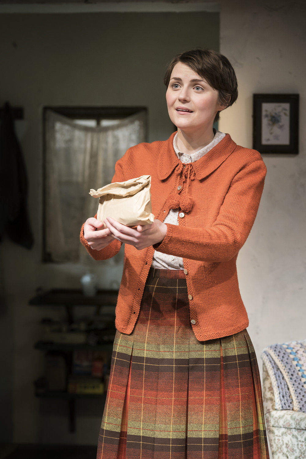 Katie West (Doreen) in The York Realist at the Donmar Warehouse, directed by Robert Hastie. Photo by Johan Persson 14946.jpg