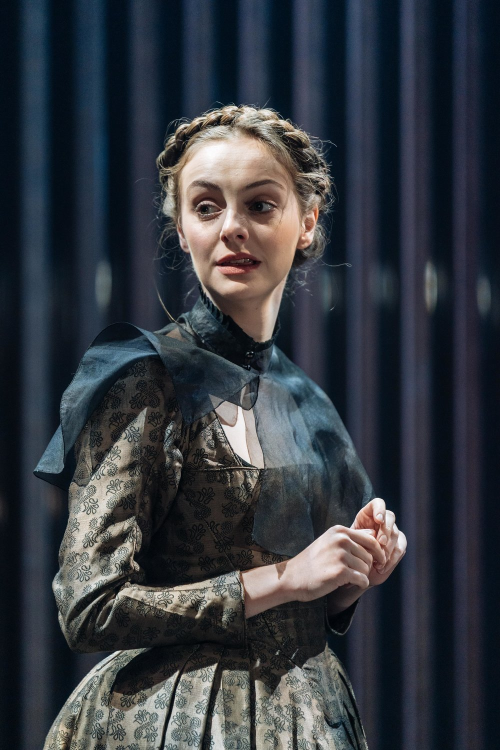 Helena Wilson (Mariana) in Measure for Measure at the Donmar Warehouse directed by Josie Rourke, designed by Peter McKintosh. Photo Manuel Harlan-112.jpg