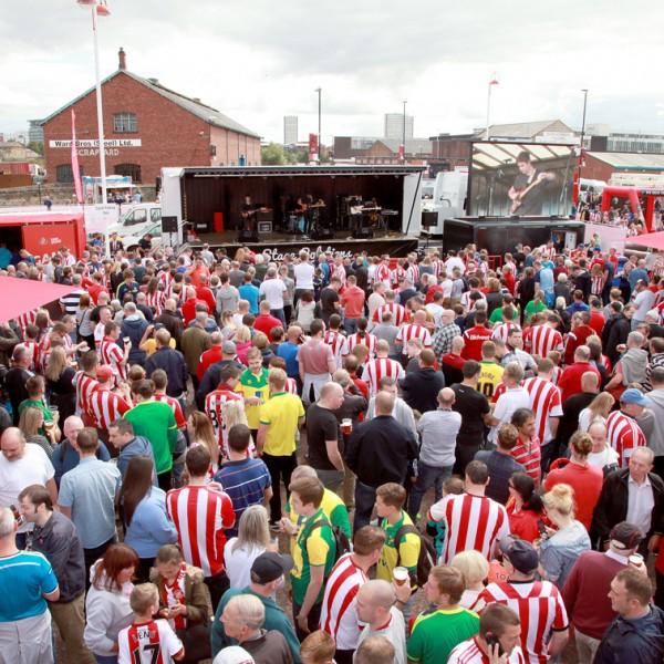 Sunderland Football Club Fan Zone Entertainment.jpg