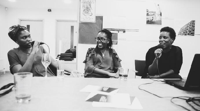 Funmi Ogunlusi – @arinola91, Ruth Muthoni – @Mothone, and Louisa Kiwana – @afroblush