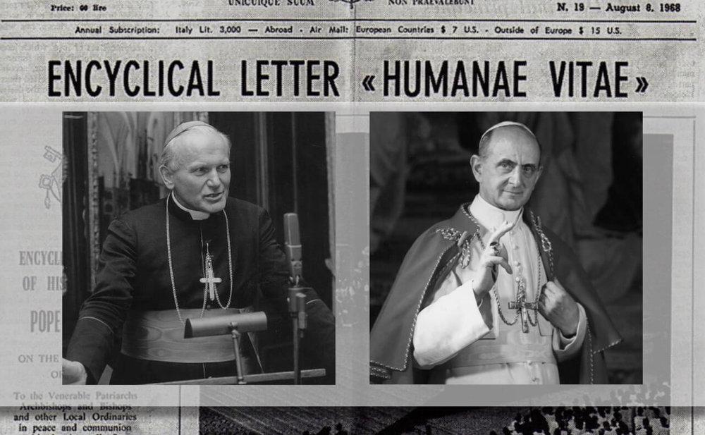 Pope Saint John Paul II and Pope Saint Paul VI. Credit: onepeterfive.com