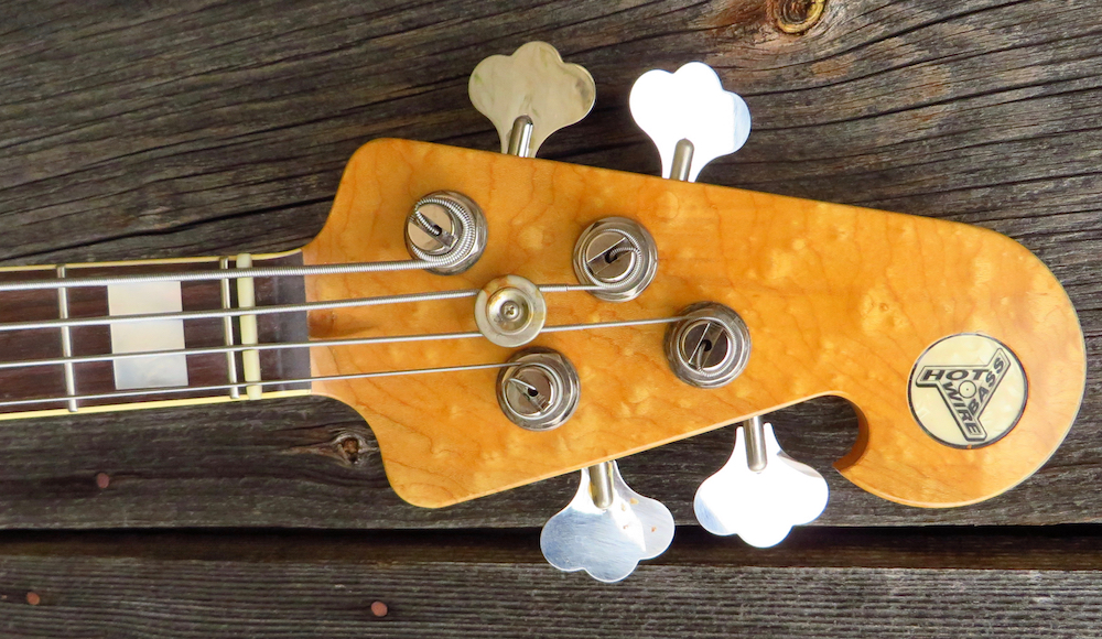 Get to the point: - If you own an original vintage bass, you do not want to take it to the gig or touring, because if something breaks or disappears, hell is going on.