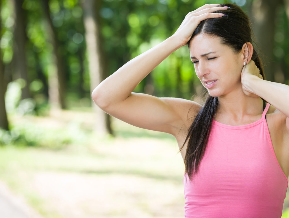 Neck pain or headache?   We can help!  Call (843) 547-4058 for an appointment or free consultation.