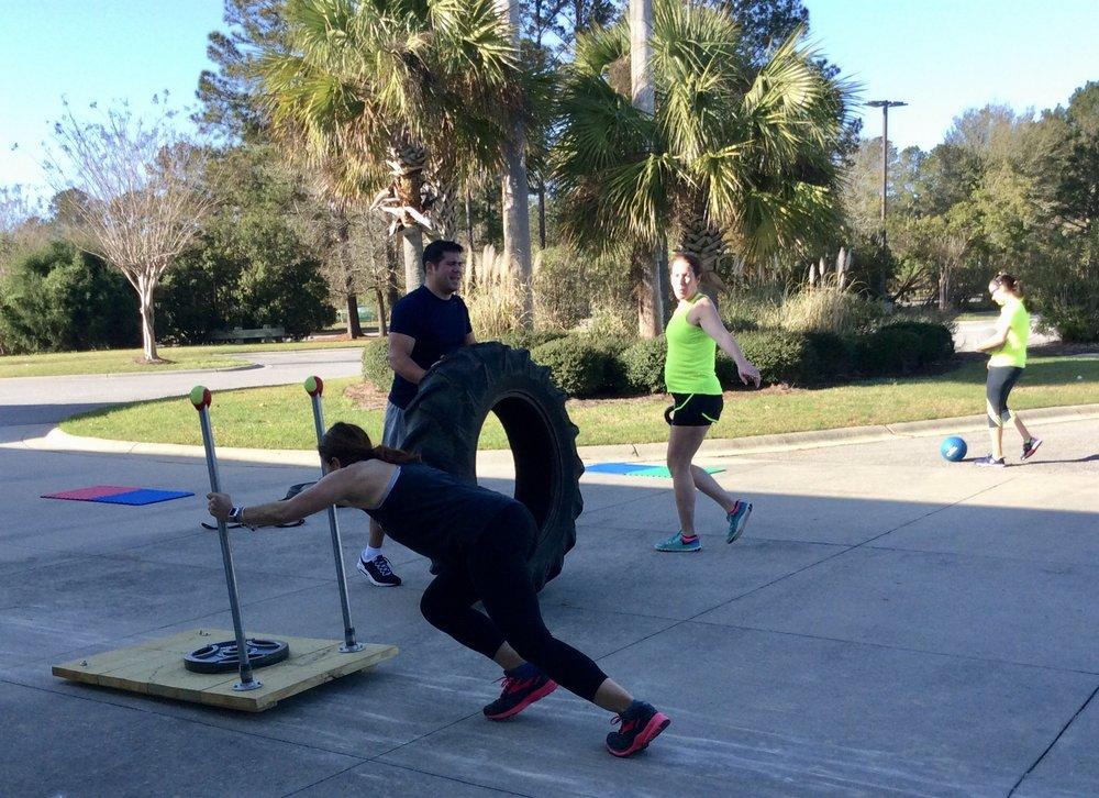 boot camp class at wellness institute