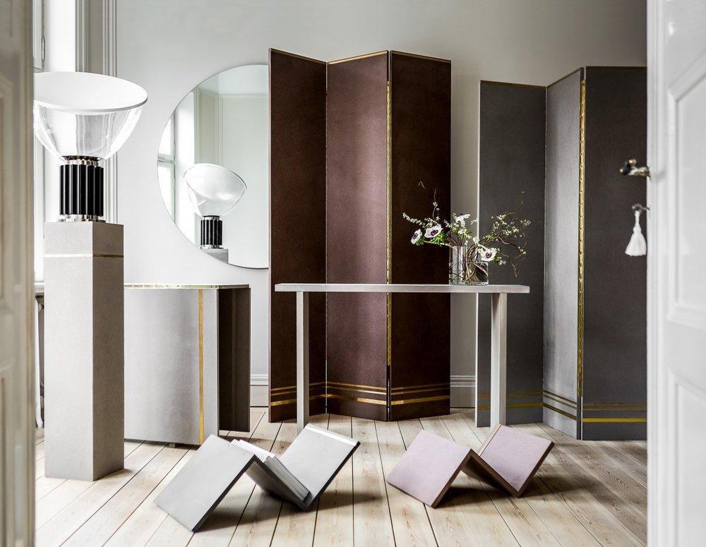En av Madeleines egendesignade kollektioner.