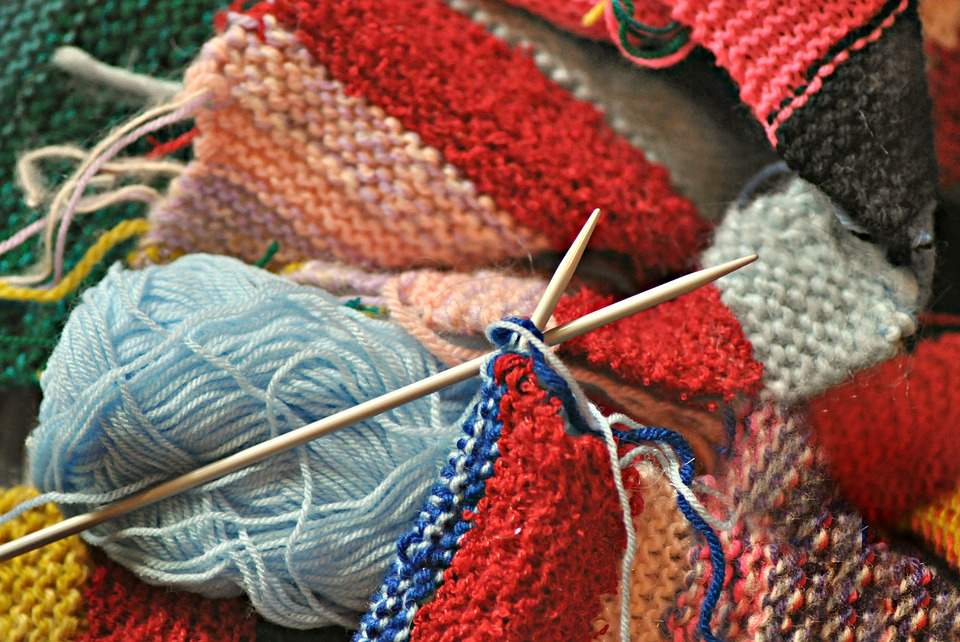 Knitting as a way to slow the process of dementia