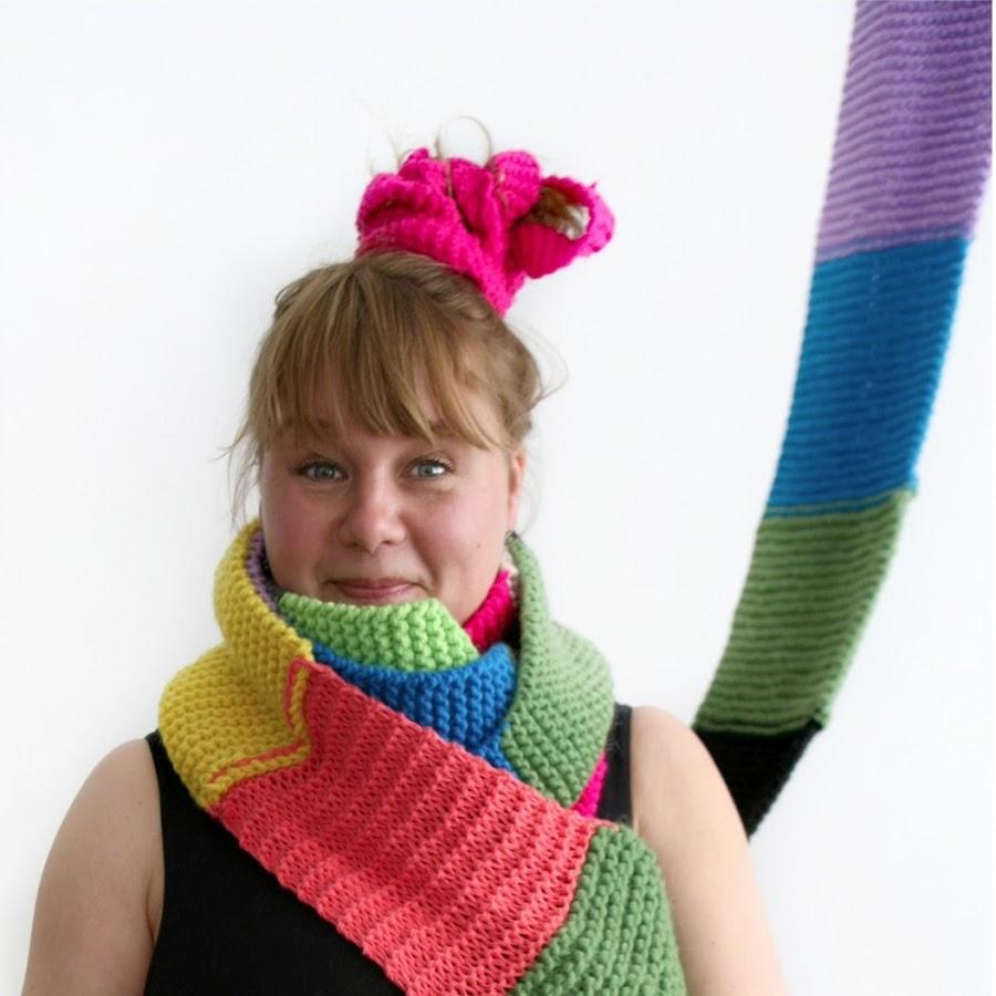 Astrid Salling, organiser of Worldwide Knit in Public Day