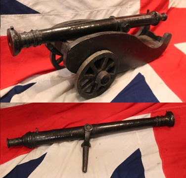 A Superb 17th -18th Century Swivel Cannon on Carriage