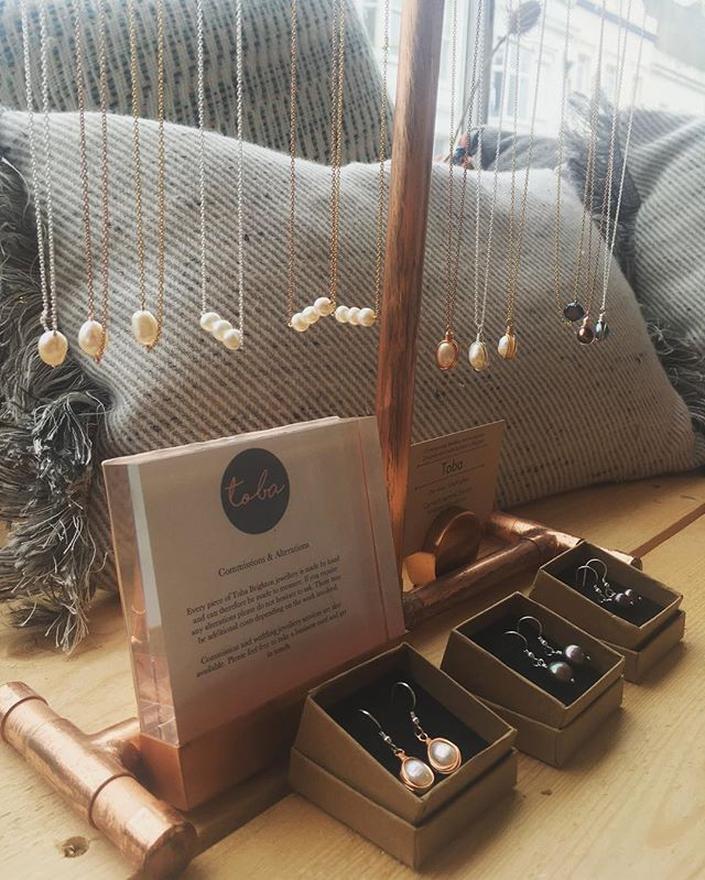 Freshwater pearls make the perfect dainty and delicate accessory. These pieces are all handmade by @tobabrighton and stocked in the shop now! . Because Mother's Day is just around the corner, we're giving you money off the one of a kind pieces, making them just £20 each. Bargain. . #smallfashionstore #bespokemakers #artisanjewellery #pearls #freshwaterpearls #delicatejewellery #freshwaterpearljewellery #madeinbrighton #handmadejewellery #daintjewellery #mothersday #giftsforher #giftsformum #indieretail #shopinbrighton #wiwt #ootd #uniquejewellery