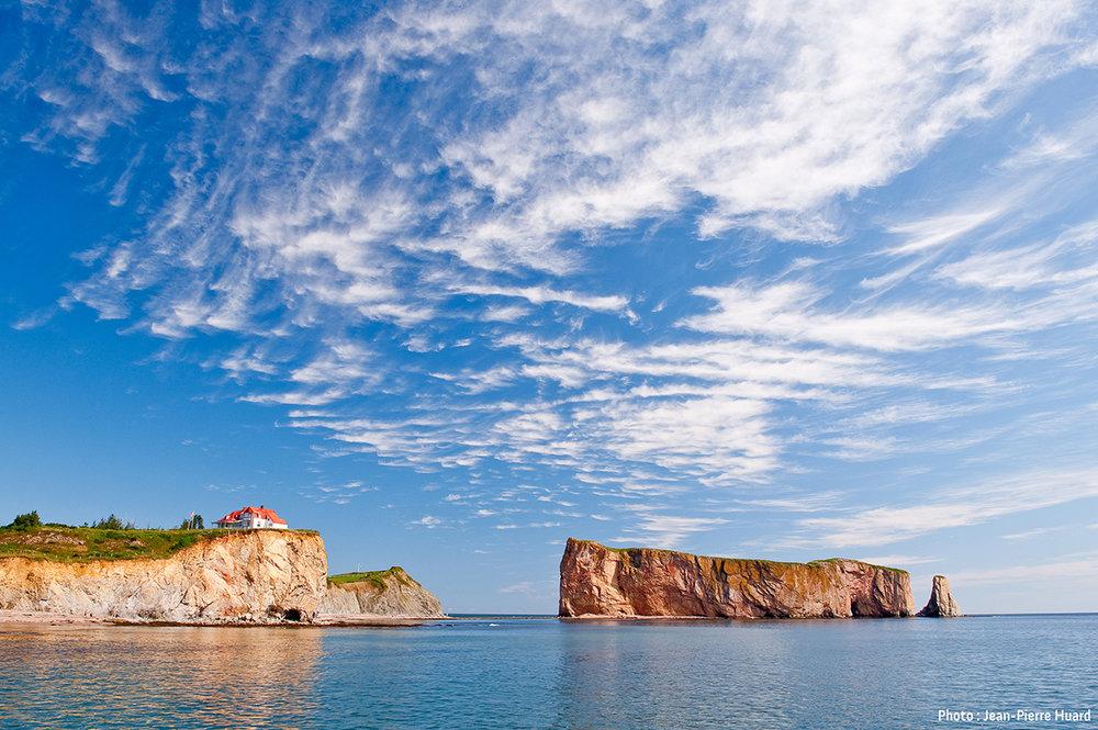 Le célèbre Rocher Percé  Photo : Jean-Pierre Huard