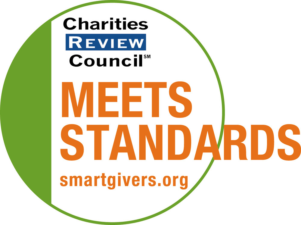 Charities Review Council - Give with confidence! ECF is a Charities Review Council Meets Standards® Organization.