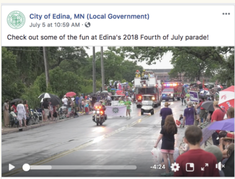 Fourth of July Parade Highlights   City of Edina Facebook , July 4, 2018