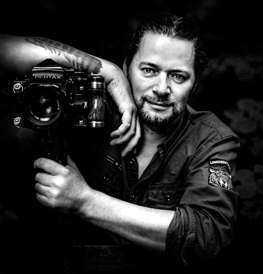 """""""If you don't do it with passion, don't do it! Everting becomes real when you are real!If we connect, when working together,techniques are only the way to produce the image. You and i made it art! You and i!""""— Nathan Mooij -"""