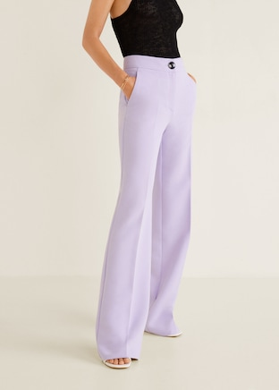 3. Tailored Trousers. - I always think they add such a sophisticated spin to your outfit that can be dressed up or down! Go for plain, patterned, straight legged, cropped and so much more. My current favourite are these beauties from Mango.