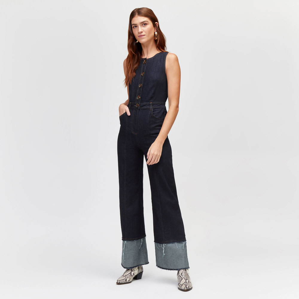 A tailored jumpsuit. - I recently rediscovered a black evening jumpsuit that I got as a sample from my first internship at Uttam London (cheers) and now it's my go to over a polo neck with trainers. I've listed a few here which are as easy to wear.