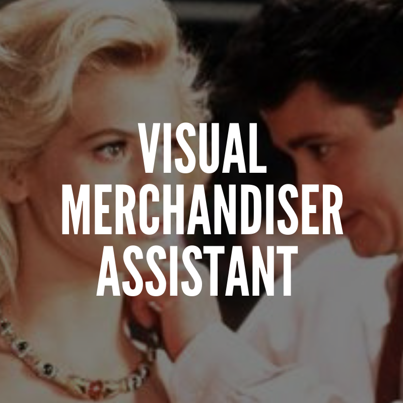 Visual merchandising assistant