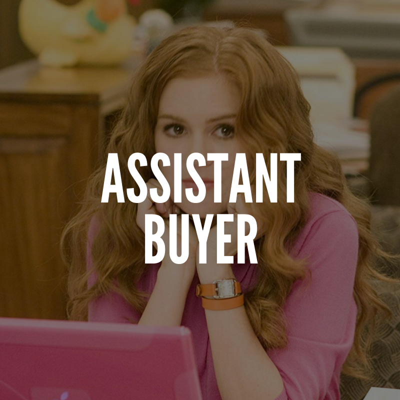 Assistant fashion buyer