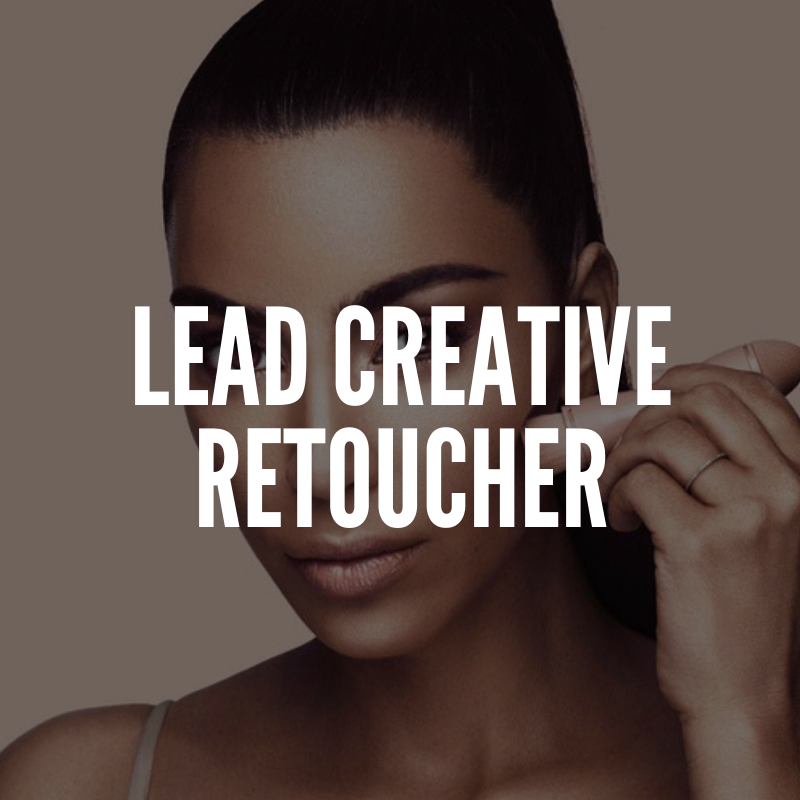 lead creative retoucher