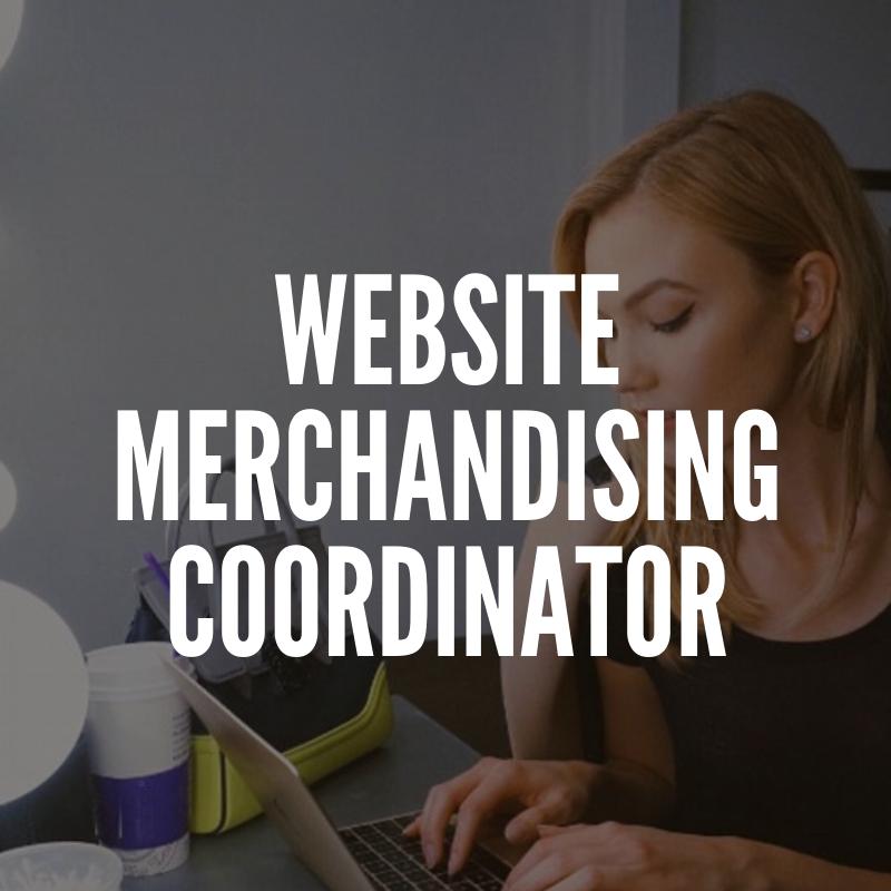 Fashion Website Merchandising Coordinator