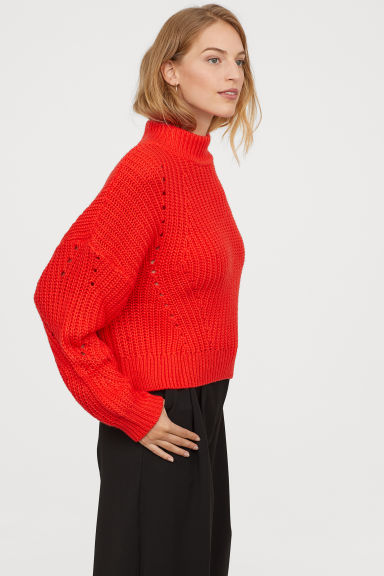 Chunky Red Jumper - It's Christmas so a chunky red jumper is essential. H&M and Monki have a huge selection of different coloured jumpers at affordable prices but I've linked my favourite red ones below.