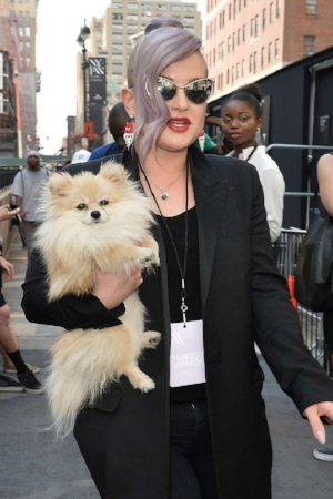Kelly Osbourne New York Fashion Week