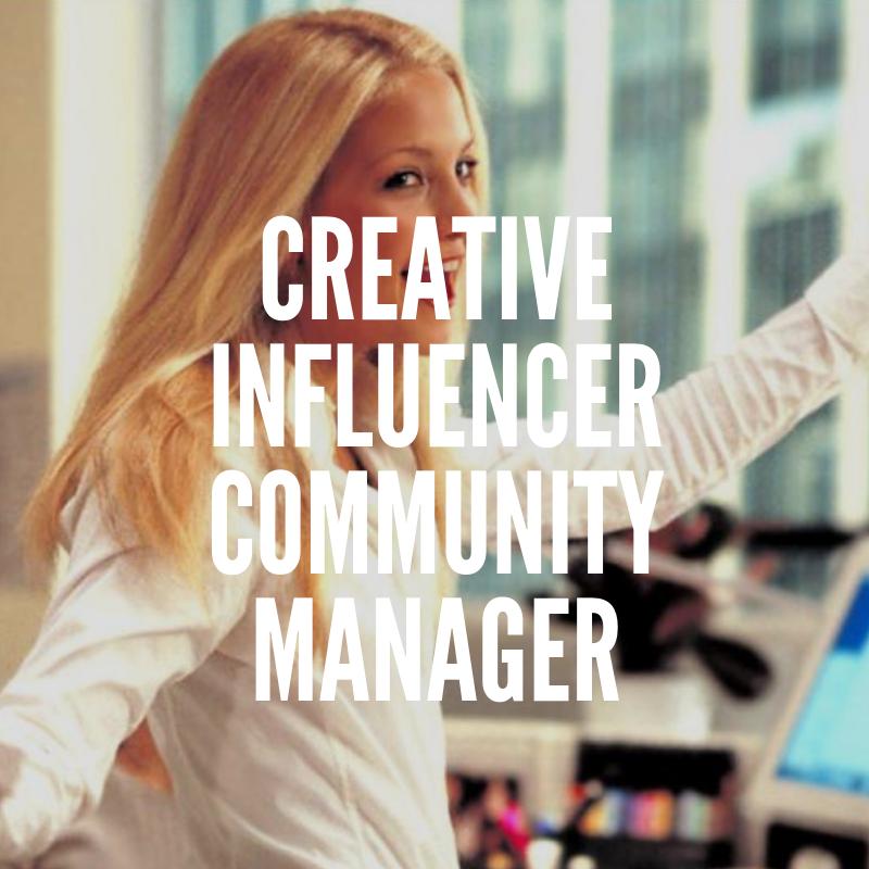 Influencer community manager